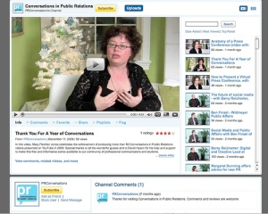 Conversations in Public Relations YouTube Channel