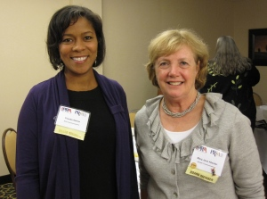 Claudia Askew and Mary-Jane Atwater