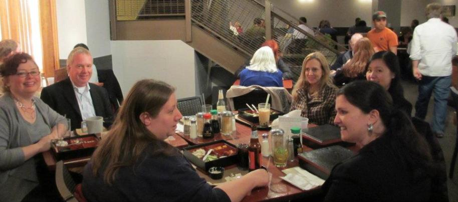 March network and lunch