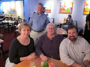 Connie Rhind, David Hyson, Susan Rink, and Robert Udowitz